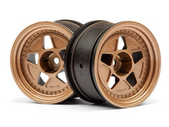 HPI Tarmac 40 Bronze Wheel 10mm Offset 52x31 2ea - HPI-116535