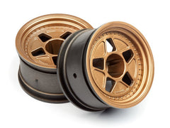 HPI Tarmac 40 Wheel Bronze 15mm Offset 52x31 2ea - HPI-116536