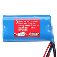 WL 1500mah 7.4V Li-Ion Battery suit Across - WL12428-0123