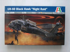 ITALERI UH-60/MH-60 Black Hawk Night Raid 1:72 - 1328S