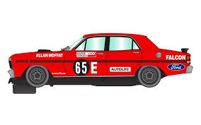 Scalextric Bathurst Legends with XY Falcon and L34 Torrana Slot Car Set - C1365