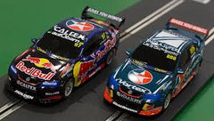 Scalextric Supercar Challenge Lowndes vs Van Gisbergen Slot Car Set - C1371