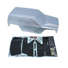 REDCAT Everest Gen7 Body Shell Silver w. Decals - RCR13827-V1-S