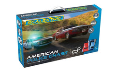 SCALEXTRIC American Police Car Chase Set - C1405