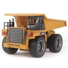 HUINA 1:14 Dump Truck with Radio, Battery and Charger - SFMHN1540