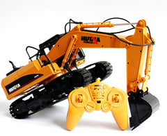 HUINA 1:14 Excavator with Radio, Battery and Charger - SFMHN1550
