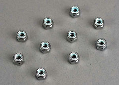 TRAXXAS LOCKING NUT-4MM NYLON - 1747