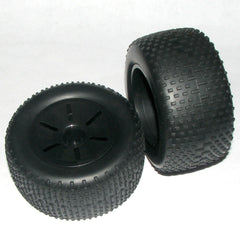 RCG 1:10 Stadium Truck Rear Wheel and Tyre Set - RCG-17703