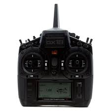 SPEKTRUM DX18 Stealth Edition Radio w/ Case AR9020 M2 - SPM18200