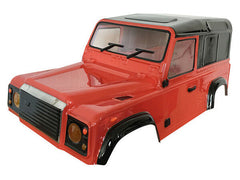 ABSIMA Land Rover D90 1:10 Crawler Clear Body Shell - AB2410063