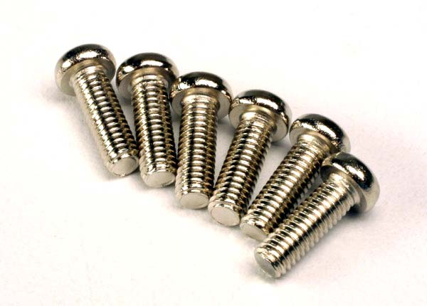 TRAXXAS SCREWS 2.6 X 8 ROUNDHEAD - 2562