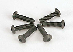 TRAXXAS BUTTON-HEAD SCRWS 3X10MM - 2577