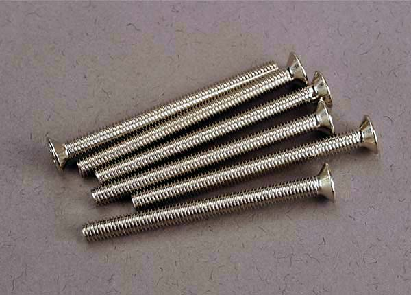 TRAXXAS SCREWS 3X36MM C/SUNK - 3172