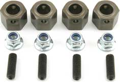 Team Losi 14mm Hex Adaptor Set - LOSB3514