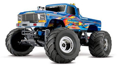 TRAXXAS BIGFOOT MONSTER TRUCK BlueX with TQ 2.4Ghz Radio, Brushed Motor Driveline, Battery and Charger - 36034-1BLUEX