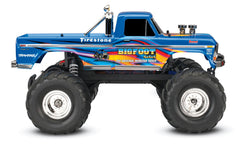 TRAXXAS BIGFOOT MONSTER TRUCK BlueX 36034-1BLUEX