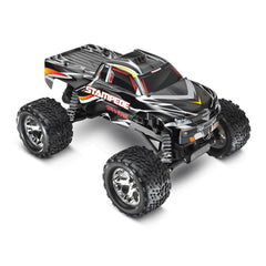 TRAXXAS STAMPEDE 2WD MONSTER TRUCK Black with TQ 2.4GHz Radio, Brushed Motor, Nimh Battery & 4A DC Charger - 36054-1BLK