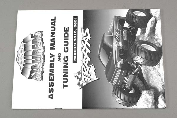 TRAXXAS ASSEMBLY MANUAL - STAMPEDE - 3699