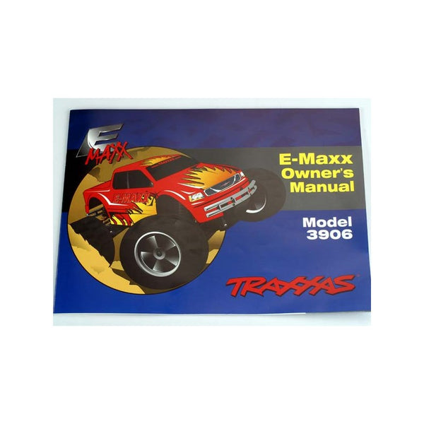 TRAXXAS INSTRUCTION MANUAL - 3999X