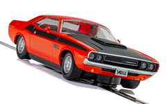 SCALEXTRIC Dodge Challenger T/A Red/Blue - C4065