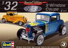 REVELL 1932 FORD 5 WINDOW COUPE 1:25 - 85-4228