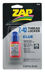 ZAP BLUE Threadlock 1oz - PT42