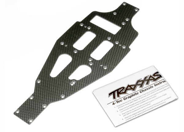 TRAXXAS LOWER CHASSIS GRAPHITE - 4322X