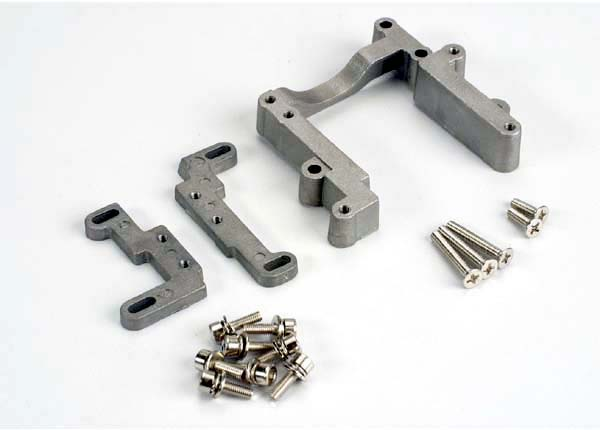 TRAXXAS ENGINE MOUNT G SET ALUMI - 4460