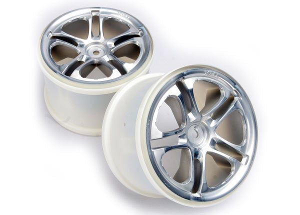 TRAXXAS WHEELS 3.8 SATIN - 5172