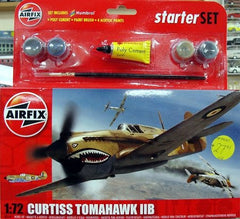 Airfix Curtiss P-40B Tomahawk Starter Set 1/:2 - 55101