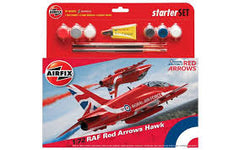 AIRFIX Red Arrows Hawk 2015 Starter Set - 55202B