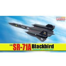 Dragon SR-71 Blackbird Rose-Baby-San 1/400 - DB56222