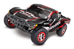 TRAXXAS SLASH 2WD SHORT COURSE TRUCK Black with TQ 2.4Ghz Radio, Brushed Motor & ESC, Battery & 4A DC Charger - 58034-1BLK