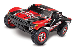 TRAXXAS SLASH 2WD SHORT COURSE TRUCK Red with TQ 2.4Ghz Radio, Brushed Motor & ESC, Battery & 4A DC Charger - 58034-1RED