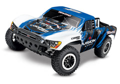 TRAXXAS SLASH 2WD SHORT COURSE TRUCK Vision with TQ 2.4Ghz Radio, Brushed Motor & ESC, Battery & 4A DC Charger - 58034-1VISN
