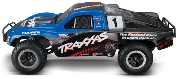 TRAXXAS SLASH 2WD VXL SHORT COURSE TRUCK Blue 58076-4BLUE