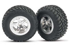 TRAXXAS TYRES AND WHEELS ASSY - 5873