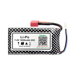 1:10 7.4V 1600Mah Li Battery - 9125-DJ02