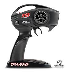 TRAXXAS TRANSMITTER TQ 2.4 GHZ - 2 CHANNEL (new black) - 6516