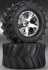 TRAXXAS TIRES & WHEELS, ASSEMBLED - 6771
