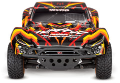 TRAXXAS SLASH 4X4 BRUSHED SC TRUCK with TQ 2.4Ghz Radio Gear, Battery and 4A DC Fast Charger ORANGE - 68054-1OR