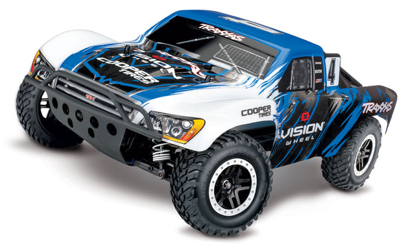 TRAXXAS SLASH 4X4 VXL SC TRUCK with TSM and TQi 2.4G Bluetooth Radio Gear - 68086-4