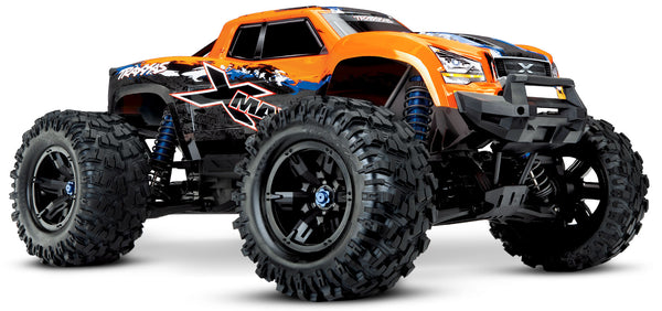 TRAXXAS X-MAXX 8S Orange Maxx Scale Monster Truck, TQi with Bluetooth, VXL-8S with Self Righting System - 77086-4OR