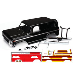 TRAXXAS BLACK FORD BRONCO BODY SHELL - 8010X