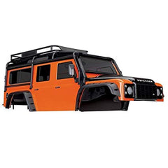 TRAXXAS LAND ROVER DEFENDER ORANGE BODY - 8011A