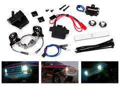 TRAXXAS LED LIGHT SET, COMPLETE WITH POWER SUPPLY - 8038