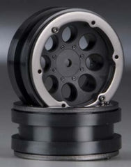 Axial 1.9in Beadlock Black Wheel 8 Hole -AX8087