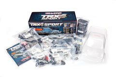 TRAXXAS TRX-4 SPORT KIT with Clear Body Shell - 82010-4