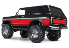 TRAXXAS TRX-4 FORD BRONCO RANGER XLT Red 82046-4RED