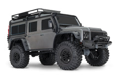 TRAXXAS TRX-4 DEFENDER SCALE AND TRAIL CRAWLER Silver with TQi 2.4Ghz Bluetooth Radio - 82056-4SLVR